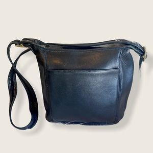 Vintage Coach Legacy Slim Bucket Bag